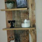 DIY Wall Mounted Pallet Shelf Unit