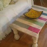 Multi-stained Pallet Coffee Table